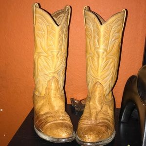 Old western boots